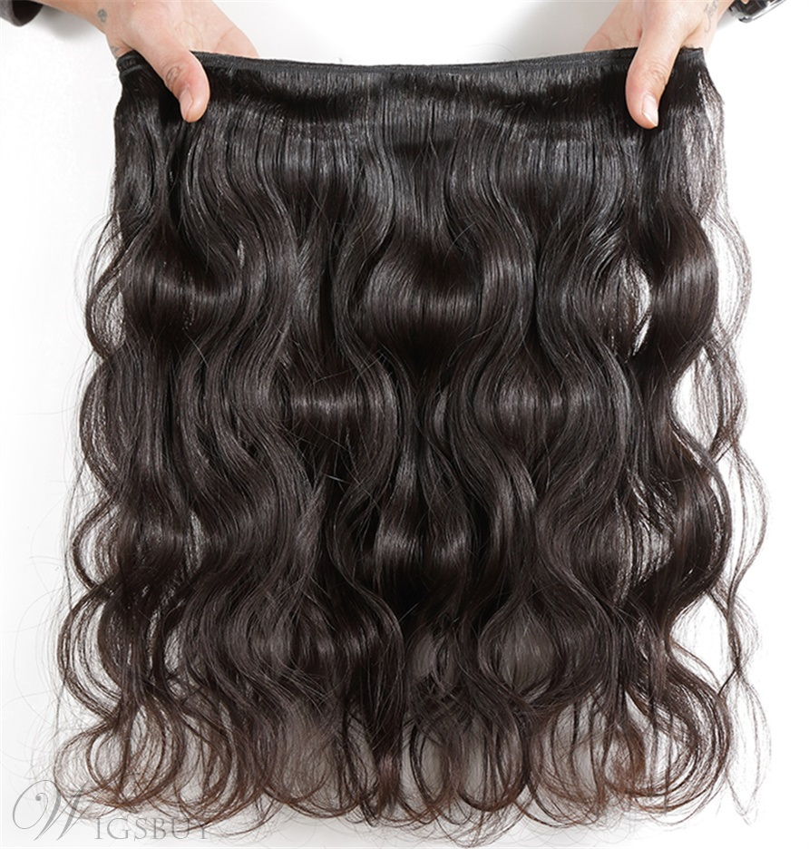 Wigsbuy Brazilian Body Wave Human Hair Weft 3 Bundles/Pack