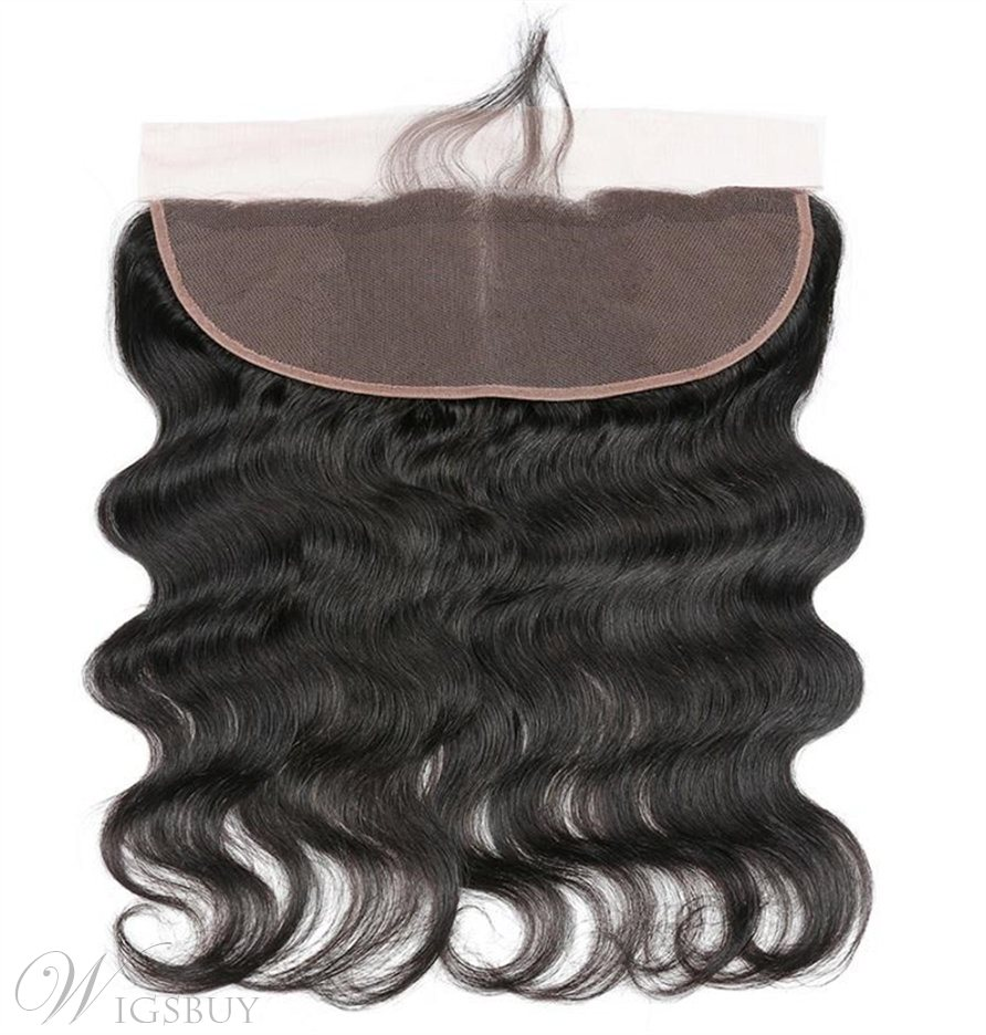 Wigsbuy Brazilian 3 Bundles Body Wave Human Hair With Lace Frontal