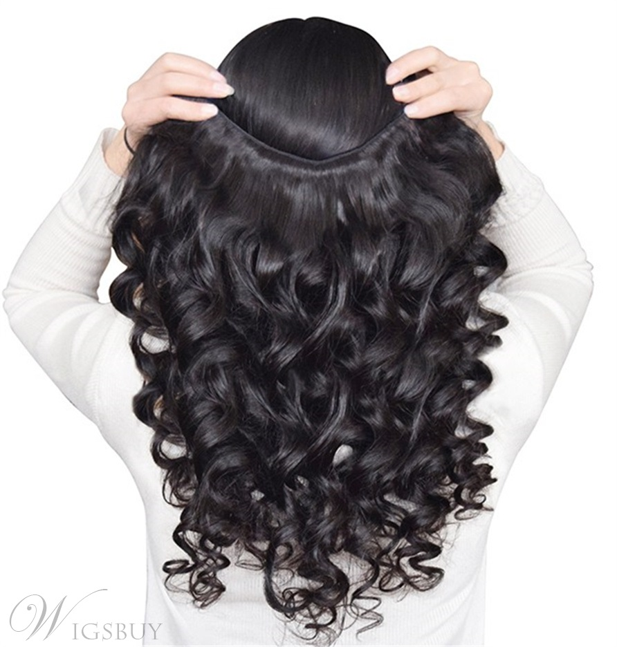 Wigsbuy 3 Bunldes Indian Virgin Hair Body Wave With Closure