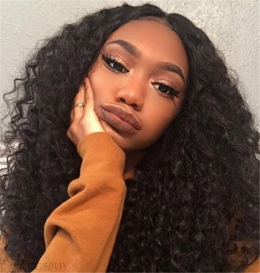 Wigsbuy Curly Hair Malaysian Deep Wave Virgin Hair Weft 4Bundles/Pack