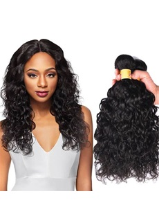 Wigsbuy Brazilian 8-26 Inches Water Wave Virgin Human Hair Weft