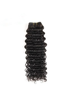 Wigsbuy 3pcs Peruvian Deep Wave Virgin Hair Bundles With Lace Closure