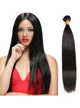 Wigsbuy Brazilian Natural Straight Human Virgin Hair Weaving 8-30 Inches