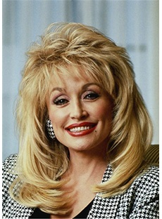 Dolly Parton Hairstyle Synthetic Hair Lace Front Cap Wig
