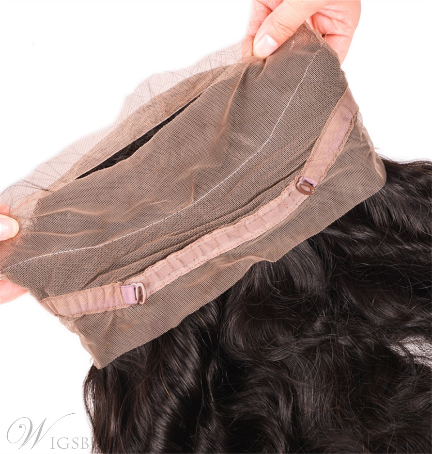 Wigsbuy Wavy 360 Lace Frontal Closure 150% Destiny With Natural Hairline