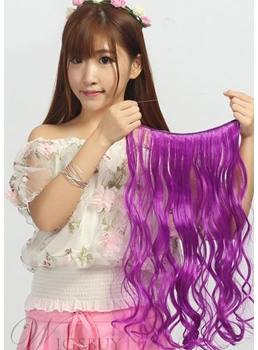 Fantastic Colorful Fun Hair Extension Synthetic Makes You Special